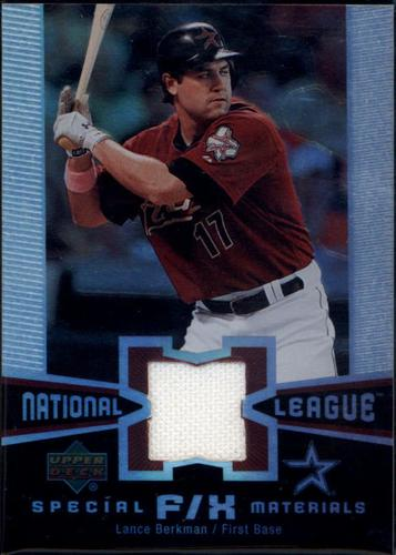 Photo of 2006 Upper Deck Special F/X Materials #LB Lance Berkman Jersey