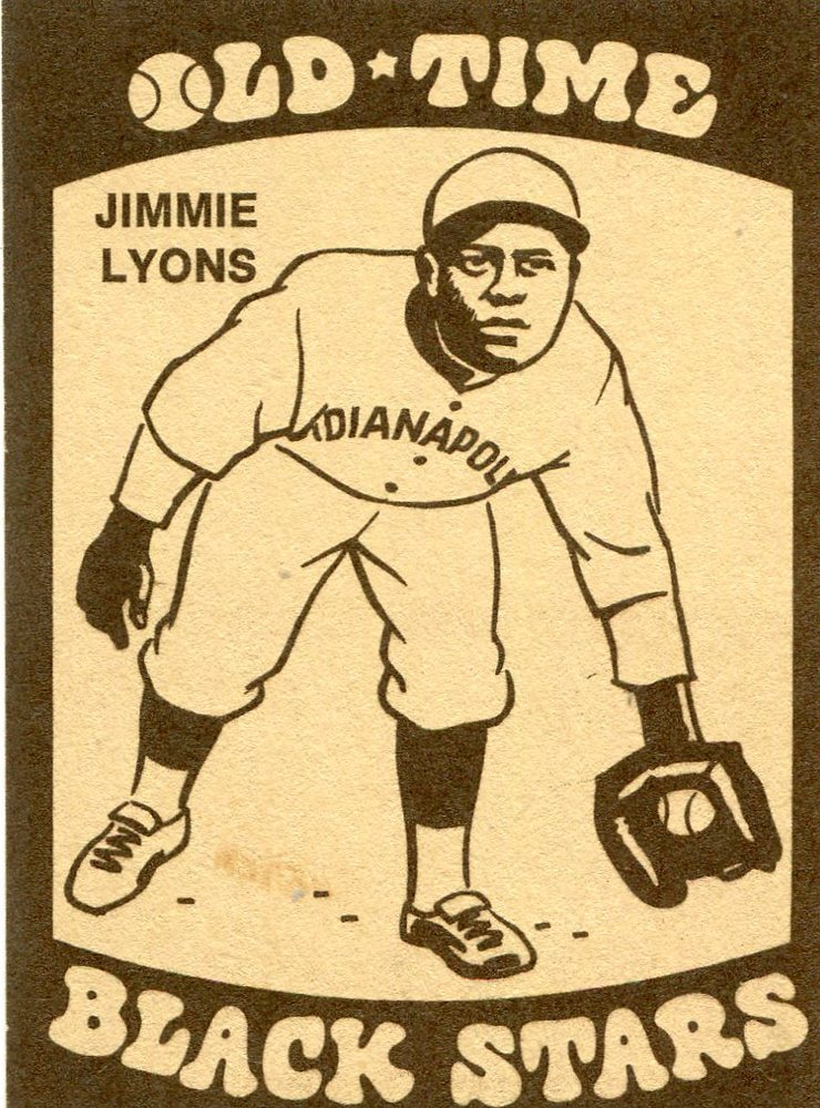 1974 Laughlin Old Time Black Stars #14 Jimmie Lyons