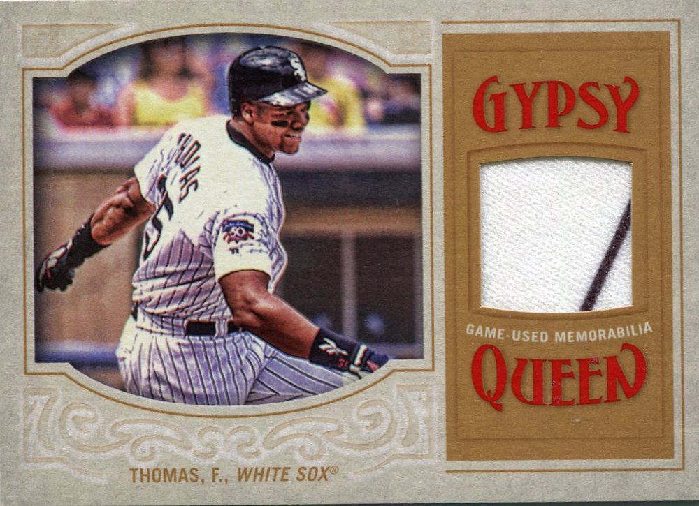 2016 Topps Gypsy Queen Relics  Frank Thomas game-worn jersey