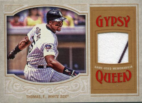 Photo of 2016 Topps Gypsy Queen Relics  Frank Thomas game-worn jersey