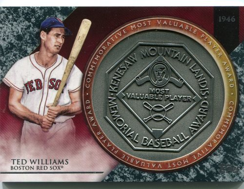 Photo of 2017 Topps Update MVP Award Relics #MVPRTWL Ted Williams