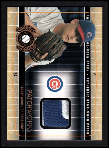 Photo of 2005 Fleer Patchworks Patch #KW Kerry Wood