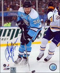 Sergei Gonchar Pittsburgh Penguins Autographed 2008 Winter Classic 8x10 Photo