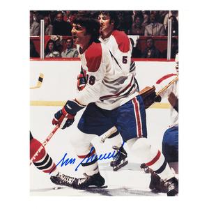 SERGE SAVARD Signed Montreal Canadiens 8 X 10 Photo - 70026