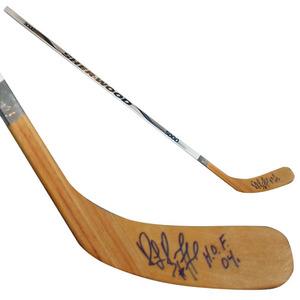 Ray Bourque (Boston Bruins) Autographed Hockey Stick w/HOF 04 Inscription