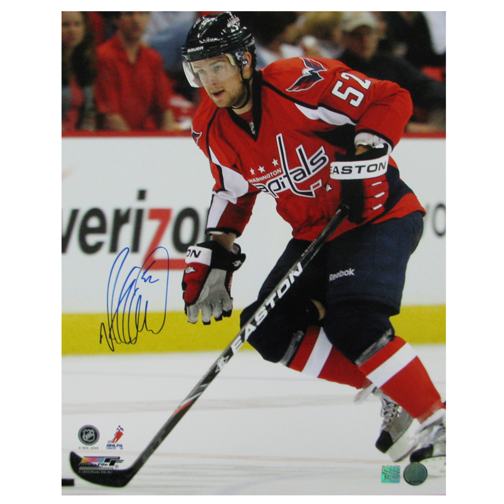 MIKE GREEN Signed Washington Capitals 16 X 20 Photo - 79018