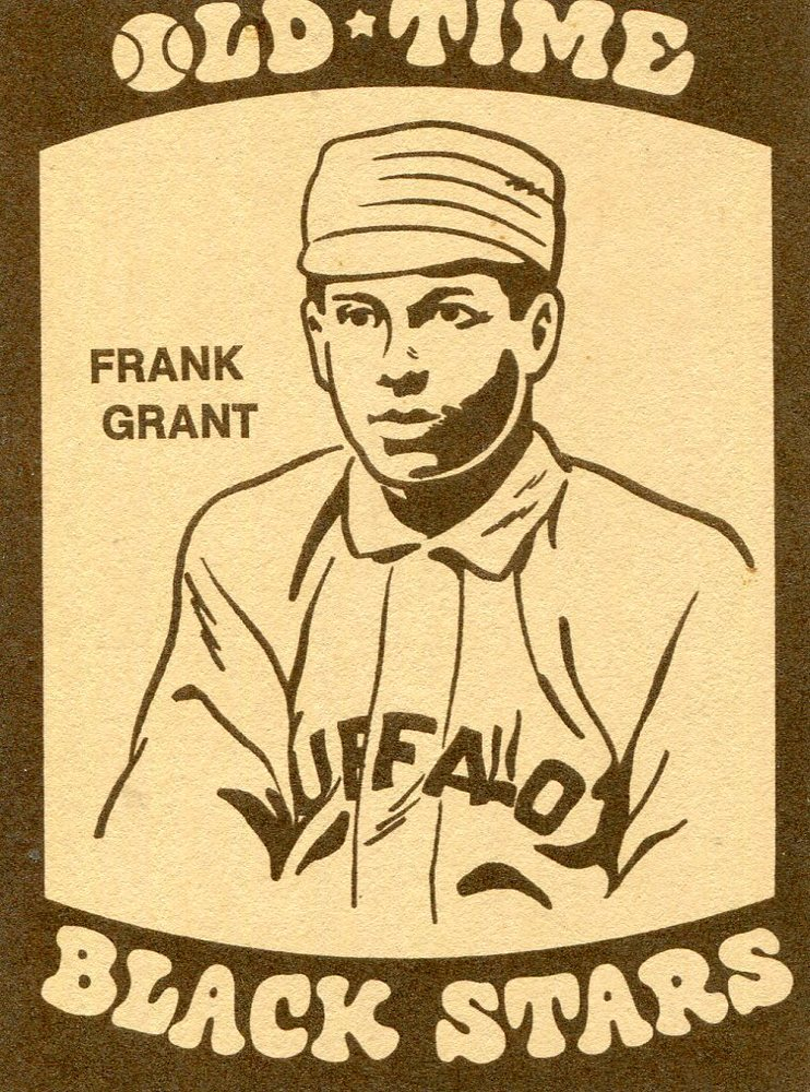 1974 Laughlin Old Time Black Stars #17 Frank Grant