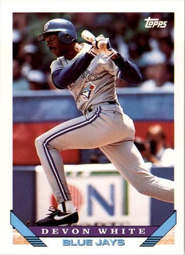 Photo of 1993 Topps #387 Devon White