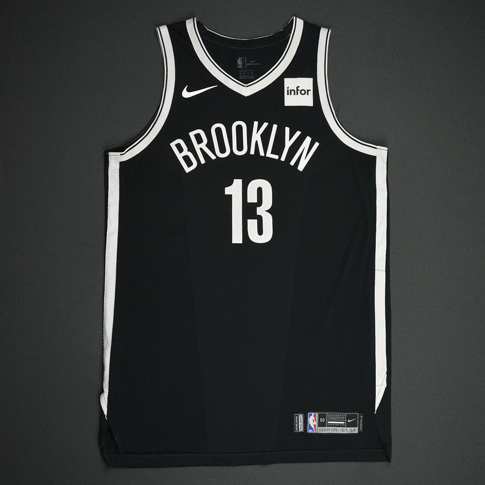 Quincy Acy - Brooklyn Nets - NBA Mexico City Games 2017 Game-Worn Jersey - Worn In 2 Games