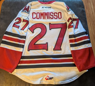 Domenico Commisso #27 Memorial Cup Jersey