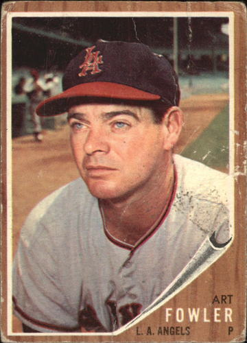 Photo of 1962 Topps #128 Art Fowler
