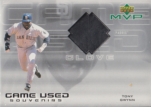 Photo of 2000 Upper Deck MVP Game Used Souvenirs #TGG Tony Gwynn Glove