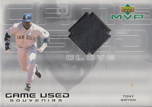 Photo of 2000 Upper Deck MVP Game Used Souvenirs #TGG Tony Gwynn Glove