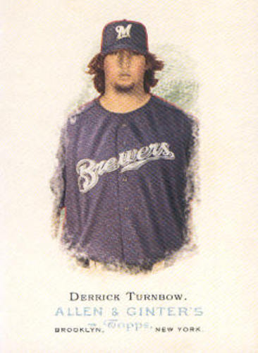 Photo of 2006 Topps Allen and Ginter #321 Derrick Turnbow