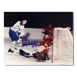 Frank Mahovlich Autographed Toronto Maple leafs 8x10 Photo