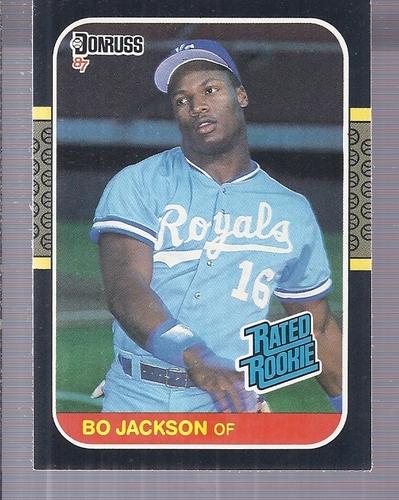 Photo of 1987 Donruss #35 Bo Jackson -- KC Royals rookie card