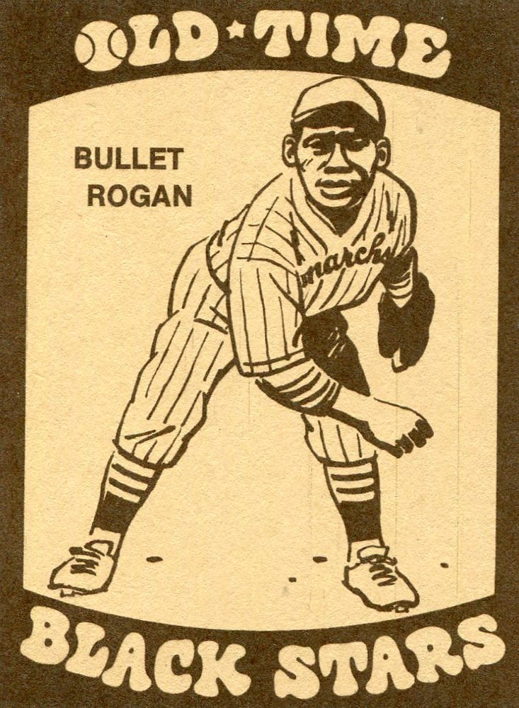 1974 Laughlin Old Time Black Stars #19 Bullet Rogan