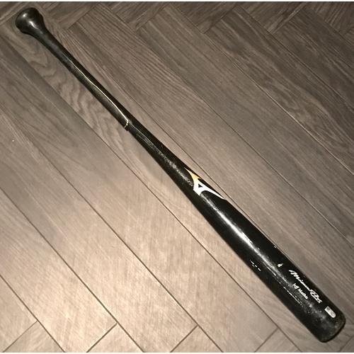 Photo of Jeff Mathis Game-Used Broken Bat