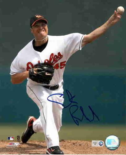 Photo of Erik Bedard Autographed 8x10