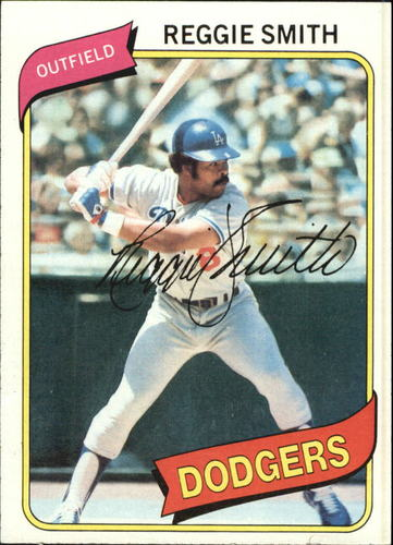 Photo of 1980 Topps #695 Reggie Smith