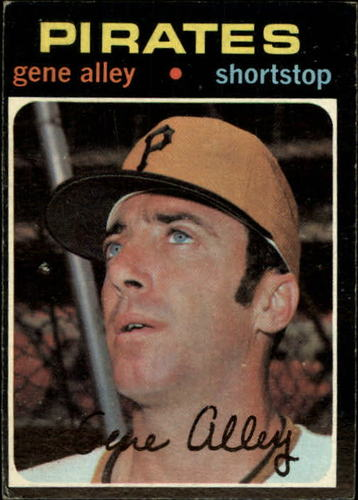 Photo of 1971 Topps #416 Gene Alley