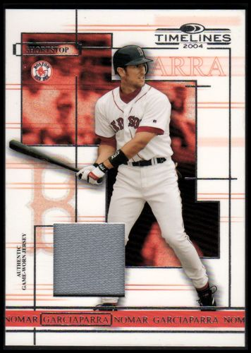 Photo of 2004 Donruss Timelines Material #36 Nomar Garciaparra Jsy