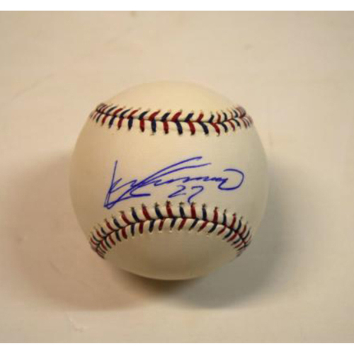 Photo of Vladimir Guerrero Autographed 2010 All Star Game Baseball