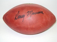 BILLS - DOUG MARRONE SIGNED AUTHENTIC FOOTBALL