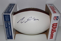 NFL - RAMS AARON GREEN SIGNED PANEL BALL