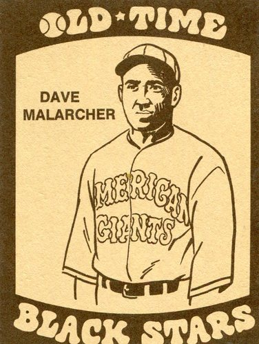Photo of 1974 Laughlin Old Time Black Stars #20 Dave Malarcher