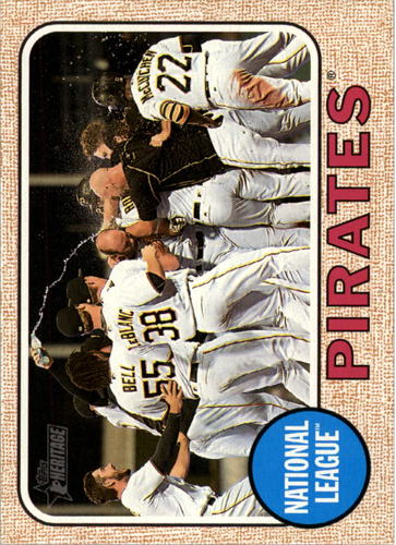 Photo of 2017 Topps Heritage #283 Pittsburgh Pirates TC