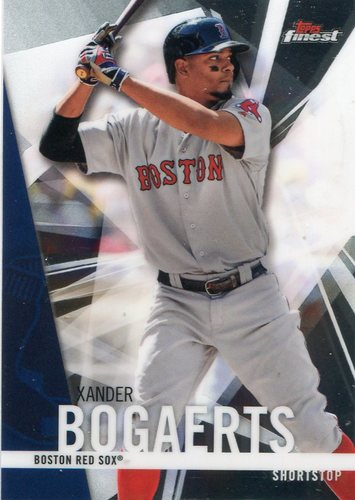 Photo of 2017 Finest #96 Xander Bogaerts