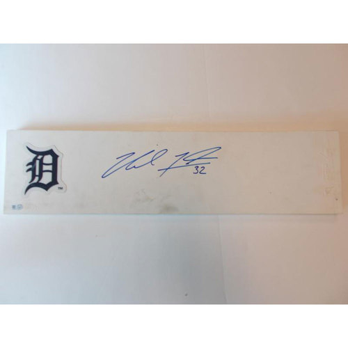 Photo of Autographed Commemorative Pitching Rubber: Michael Fulmer