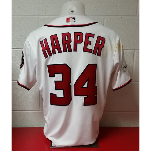 Photo of NLDS Game-Used Jersey: Bryce Harper