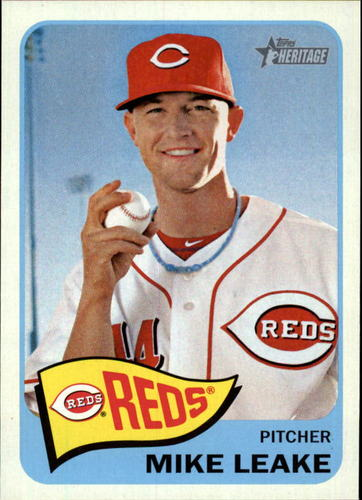Photo of 2014 Topps Heritage #128 Mike Leake