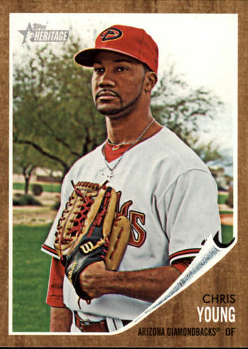 Photo of 2011 Topps Heritage #413 Chris Young