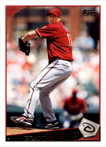 Photo of 2009 Topps #140 Brandon Webb