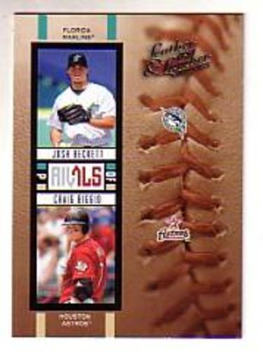 Photo of 2005 Leather and Lumber Rivals #17 J.Beckett/C.Biggio