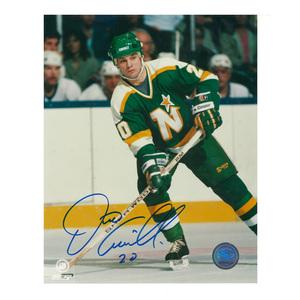 DINO CICCARELLI Signed Minnesota Northstars 8 X 10 Photo - 70030