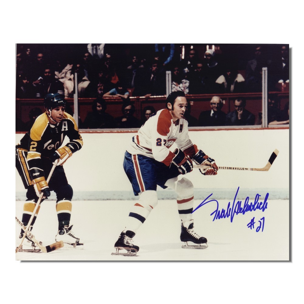 Frank Mahovlich Autographed Montreal Canadiens 8x10 Photo