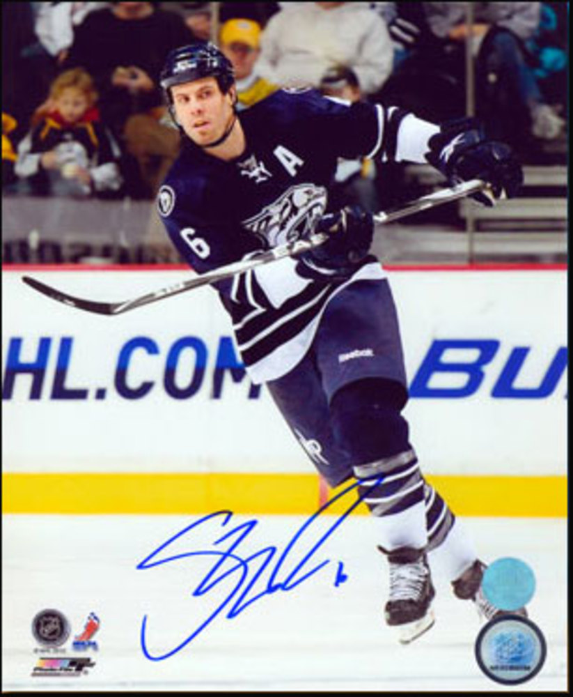 SHEA WEBER Nashville Predators SIGNED 8x10 Photo