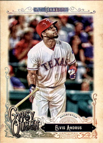 Photo of 2017 Topps Gypsy Queen #213 Elvis Andrus