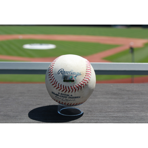Photo of Game-Used Alcides Escobar Single: Bottom 4th Inning (7/17/17 DET at KC)