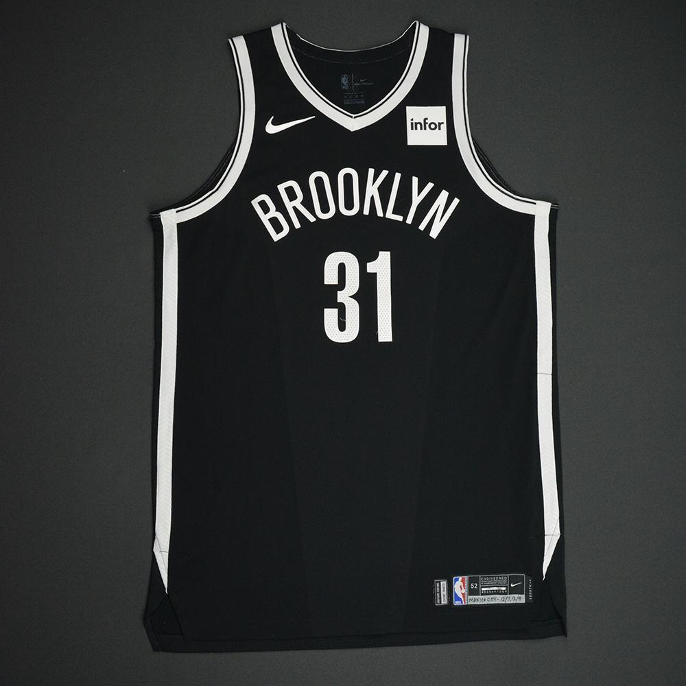 Jarrett Allen - Brooklyn Nets - NBA Mexico City Games 2017 Game-Worn Jersey - Worn In 2 Games