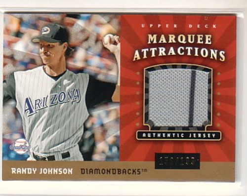 Photo of 2004 Sweet Spot Marquee Attractions Jersey #RJ Randy Johnson
