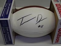 NFL - PACKERS TREVOR DAVIS SIGNED PANEL BALL