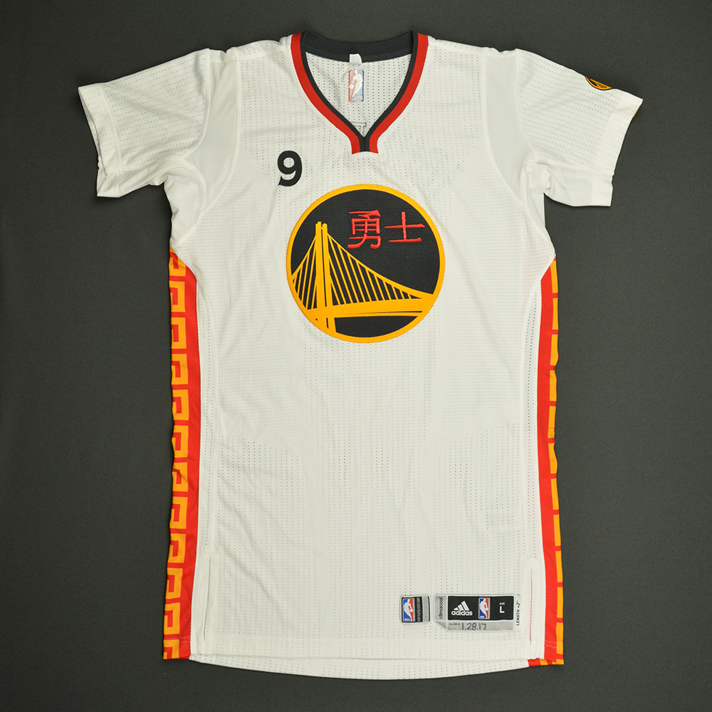 Andre Iguodala - Golden State Warriors - Game-Worn Chinese New Year Jersey - 2016-17 Season