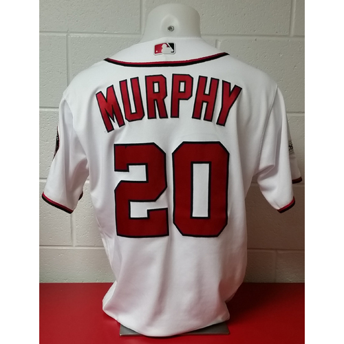 Photo of NLDS Game-Used Jersey: Daniel Murphy