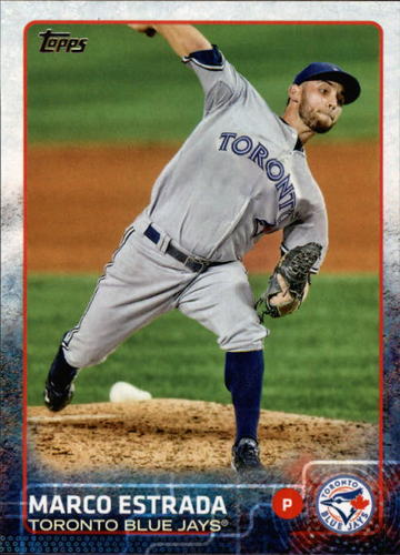 Photo of 2015 Topps #569 Marco Estrada