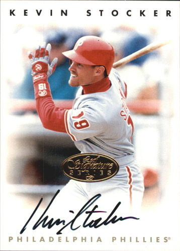 Photo of 1996 Leaf Signature Autographs Gold #215 Kevin Stocker